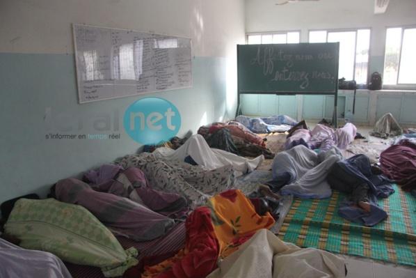 En grève de la faim, les sortants de la Fastef reçoivent le soutien des députés