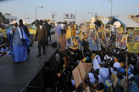 Meeting du FPDR : Les mouvements de soutien n'ont pas été en reste