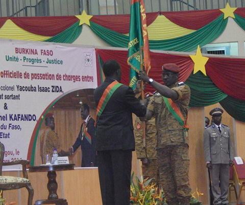 "Burkina-Président Michel Kafando : ""Plus jamais d'injustice, plus jamais de gabegie, plus jamais de corruption"""