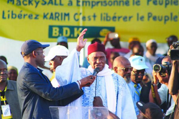 Le président Me Abdoulaye Wade, victime de  ses erreurs politiques