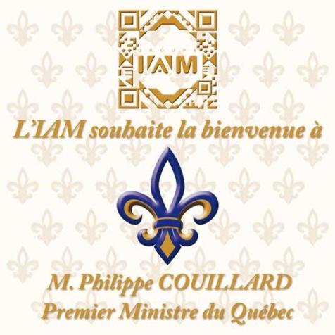 L'IAM reçoit  le Premier ministre du Québec, Philippe Coullard