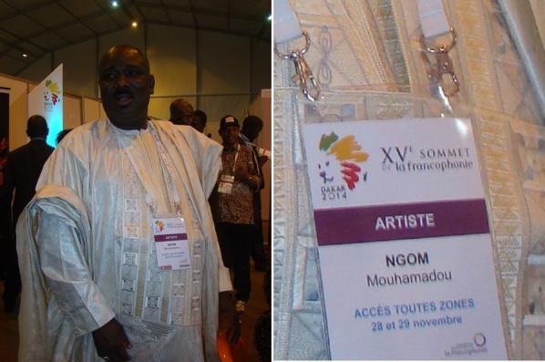 Farba Ngom passe partout au XVe Sommet de la Francophonie