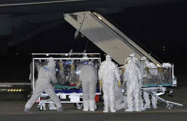 L'Italie enregistre son premier cas Ebola