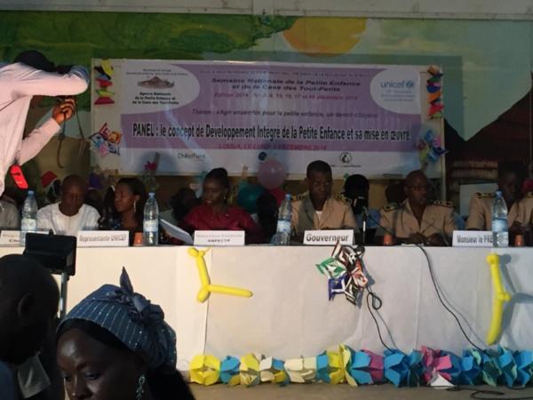 La semaine nationale de la petite enfance doit aider à améliorer la prise en charge (officielle)