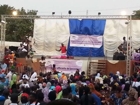 Photos - La semaine nationale de la petite enfance lancée en grande pompe à Louga