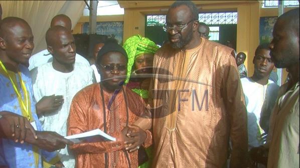 Touba – Moustapha Cissé Lô se réconcilie avec Abdou Lahad Seck