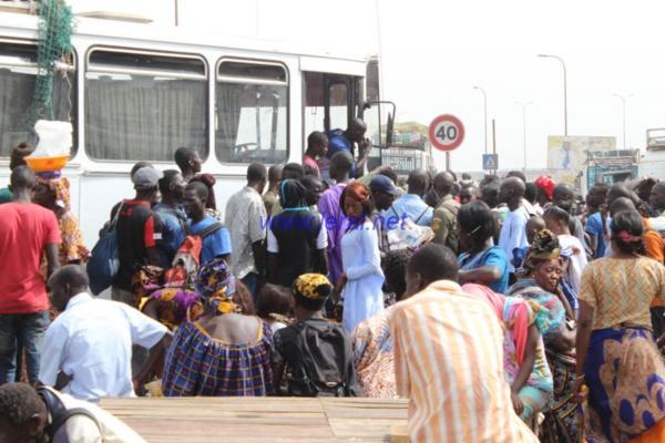 Magal: Le calvaire des pèlerins à la routière des beaux maraîchers (en images)