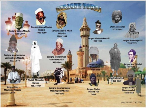 Les Khalifes Généraux Des Mourides: Les 7 Empreintes De Bamba