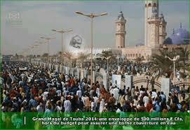 Magal : 4 millions de personnes rassemblées à Touba, selon Serigne Bassirou Abdoul Khadre
