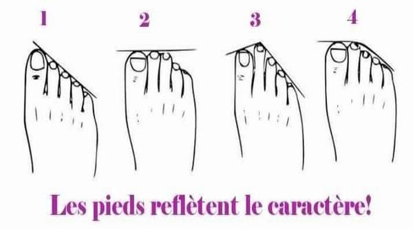 Comment dévoiler le caractère de votre partenaire en regardant…ses pieds !