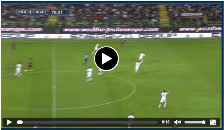 Ménez inscrit un superbe but contre Parme