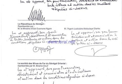 Exclusif! Affaire Arcelor Mittal :  Flou total sur les documents publiés sur le Site du gouvernement (documents)