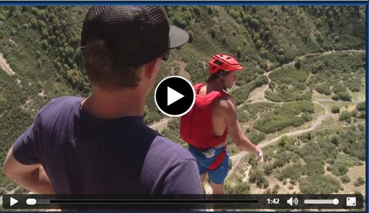 Un saut très dangereux finit par une chute très grave