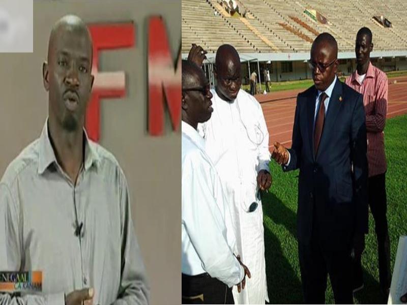"Tounkara écrit à Mactar Bâ: ""la rénovation du stade Demba Diop a été bâclée"""