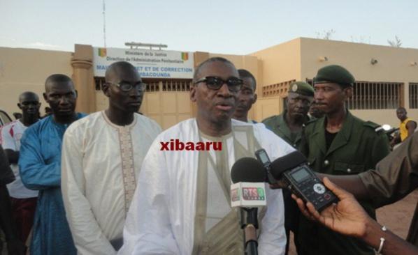 """Sidiki Kaba: """"860 détenus ont bénéficié de la liberté conditionnelle"""""""