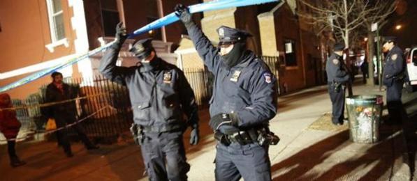 Colère à New York, sous le choc après l'assassinat de deux policiers
