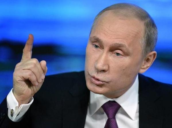 """""""Personne ne parviendra à intimider"""" la Russie prévient Poutine"""
