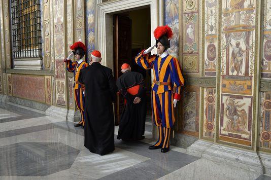Le pape François critique sévèrement « l'Alzheimer spirituel » de la curie