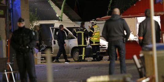 « On ne peut parler d'acte de terrorisme » après l'accident au marché de Noël de Nantes