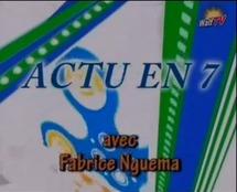 """""""Actu en 7"""" reçoit les journalistes Momar Seyni Ndiaye et Kadialy Diakité"""