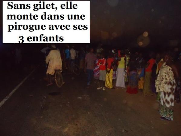 Kédougou: Une pirogue chavire avec une femme et ses trois enfants