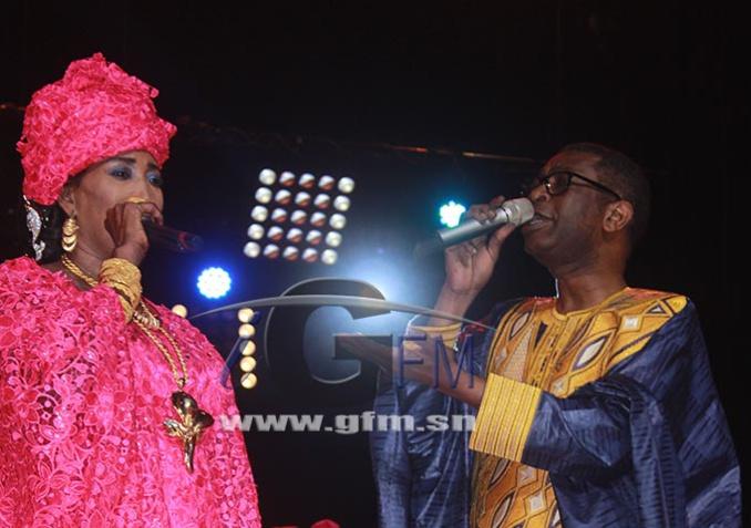 Vidéo– Grand Théâtre : le duo de choc de Kiné Lam et Youssou Ndour