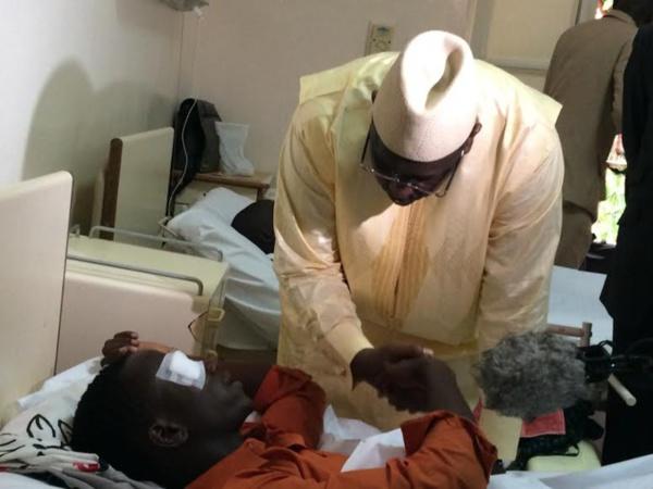 """Malade de l'œsophage, le jeune Ousmane Kane """"sauvé"""" par Macky"""