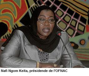 Déclaration de patrimoine, Nafi Ngom Keïta, un style qui dérange