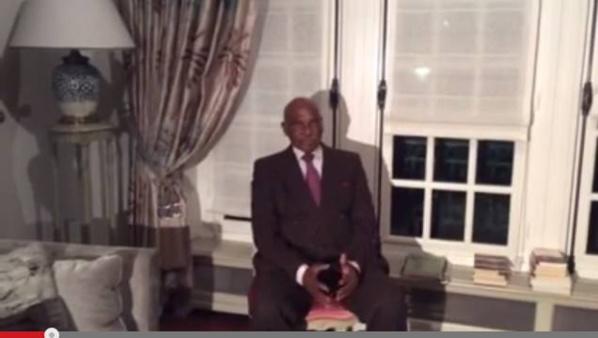 """Me Wade aux Sénégalais à l'occasion du nouvel An : """"Dieu m'a donné un sens très poussé des affaires"""""""