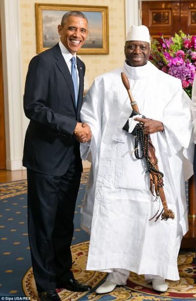 Accusés par Jammeh d'être les parrains des putschistes : Les USA nient et condamnent