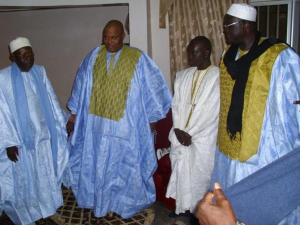 Une délégation de Serigne Bassirou Mbacké Abdou Khadre chez Al Amine