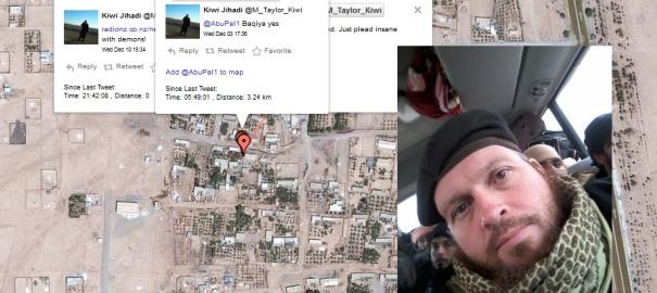 Un djihadiste oublie de désactiver la géolocalisation et se fait repérer sur Twitter