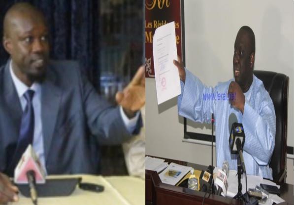 """Ousmane Sonko, Sg honoraire du syndicat des Impôts et Domaines : """"Aliou Sall est la remorque de Macky depuis une décennie et sur le dos de l'Etat"""""""