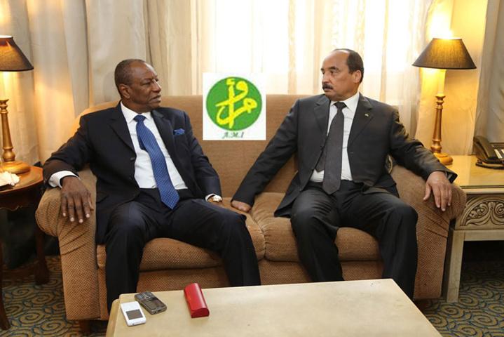 Guinée : Que cache la visite du Président mauritanien ?