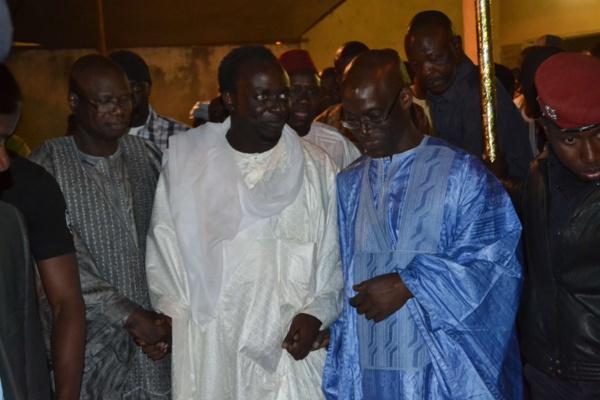 Serigne Khadim Gaydel Lô réconcilie les ministres Augustin Tine et Thierno Alassane Sall