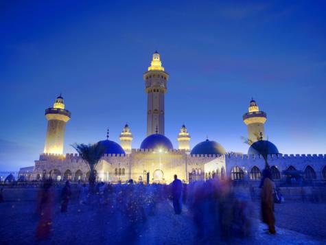 Mawlid 2015: Le Gamou à la Grande Mosquée de Touba