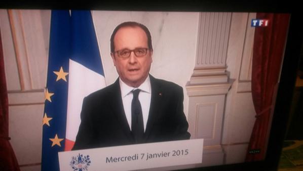 Attaque à Charlie Hebdo: François Hollande annonce une journée de deuil national ce jeudi
