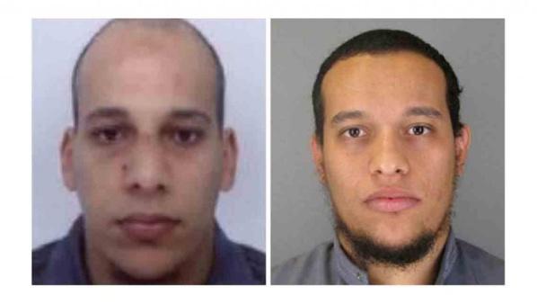 """Attentat contre """"Charlie Hebdo"""" : Un des suspects entendu, deux frères recherchés"""