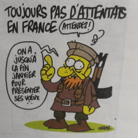 Charlie Hebdo sortira mercredi prochain