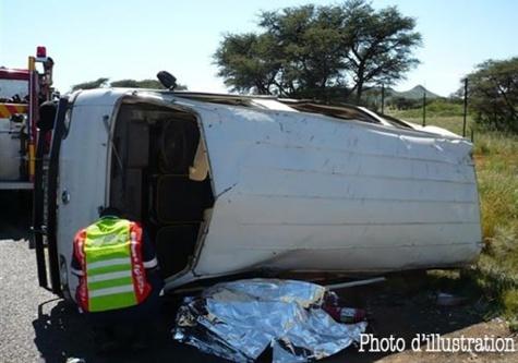 Fatick: Un car Ndiaga Ndiaye dérape et fait 53 blessés dont 17 dans un état grave