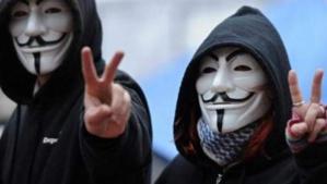 """Attentat à Charlie Hebdo:  Anonymous promet une """"réaction massive"""""""
