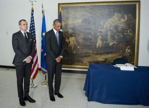 """Obama : """"Vive la France!"""""""