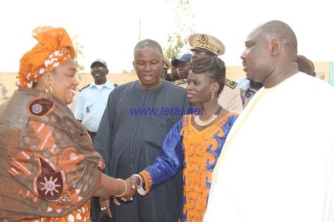 Matam: Thérèse Faye Diouf effectue une visite de terrain à Ndoulou Madji Dembe, Thilogne, Agnam Civol ... ( photos)