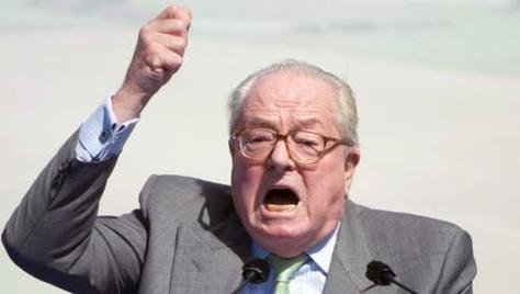 """Jean-Marie Le Pen: """"Je ne suis pas Charlie"""""""