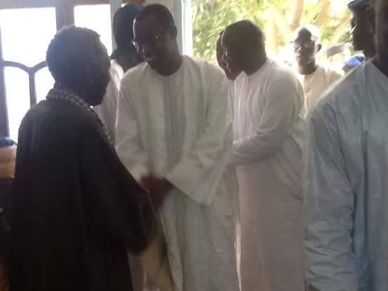 Ndiassane: Le khalife prie pour Idrissa Seck