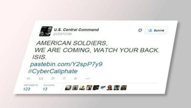 Des «cyber-djihadistes» piratent des comptes Twitter et YouTube de l'armée américaine