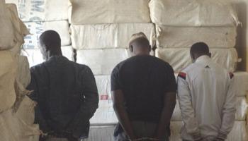 Plage de Petit-Mbao : La gendarmerie saisit une tonne de chanvre indien, cinq trafiquants arrêtés