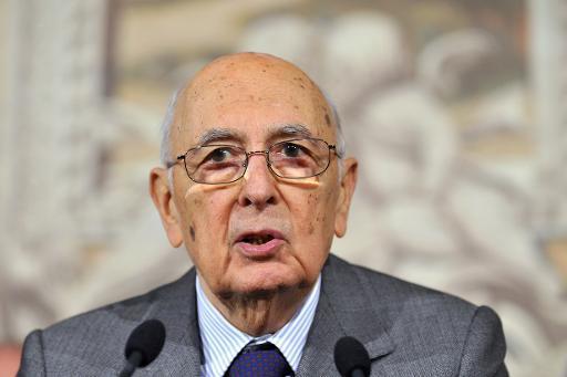 Italie: le président Giorgio Napolitano démissionne, la succession ouverte
