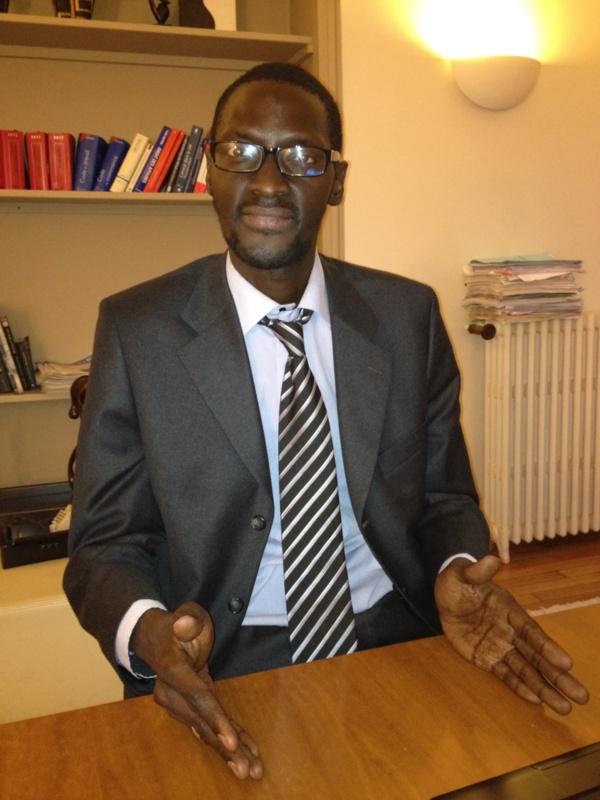 Sidya BAYO, est bien arrivé à Paris rassure son avocat Abdoulaye TINE.