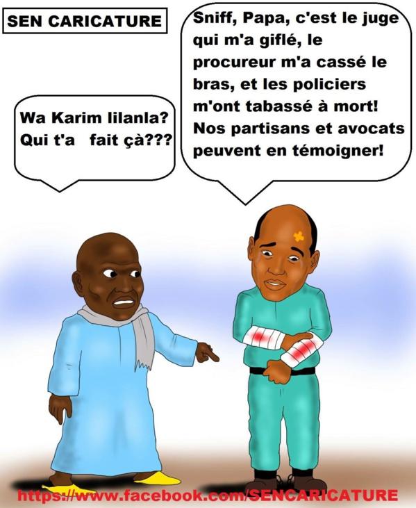 Communiqué du PDS sur la grève de la faim entamée par Karim Wade